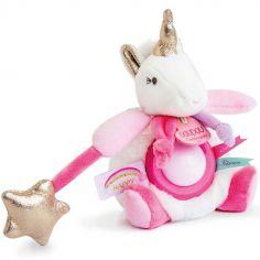 Doudou veilleuse Ma jolie licorne