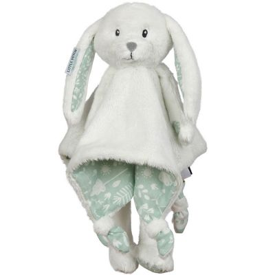 Peluche lapin Adventure mint (33 x 33 cm)  par Little Dutch