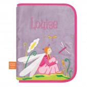 Protège carnet de santé Libellule amoureuse (personnalisable) - L'oiseau bateau
