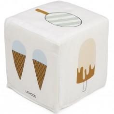 Cube en tissu Una glace
