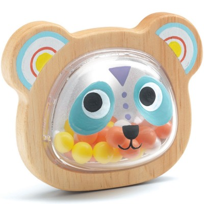 Hochet maracas BabyPandi  par Djeco