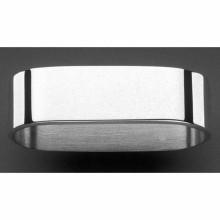 Rond de serviette Alta (métal argenté 150°)  par Robbe & Berking