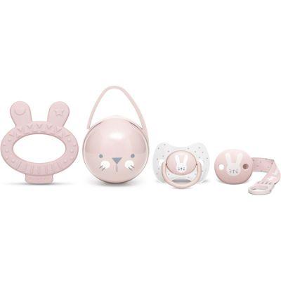 Coffret cadeau de naissance Hygge Baby lapin rose  par Suavinex