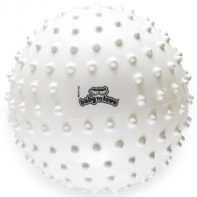Balle tactile classique blanche  par BabyToLove