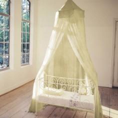 Moustiquaire pour lit kaki