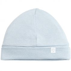 Bonnet en coton pour réchauffer bébé   Berceau magique b594f9c5acf