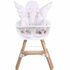 Coussin de chaise haute Ange rose clair