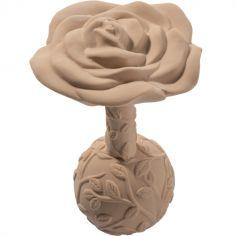 Hochet de dentition en hévéa Rose beige