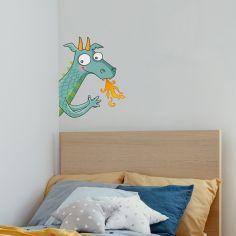 Sticker de porte dragon (côté gauche)