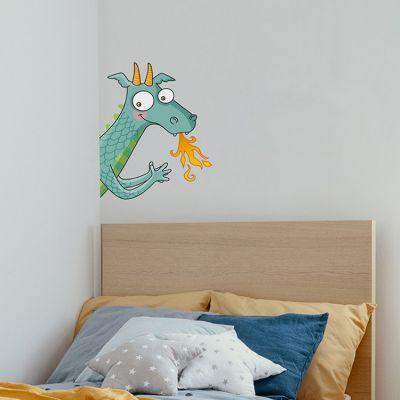 Sticker de porte dragon (côté gauche)  par Série-Golo