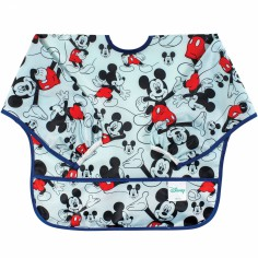 Bavoir manches longues Mickey