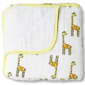 Couverture hiver Dream Blanket girafe Jungle Jam (120 x 120 cm) - aden + anais