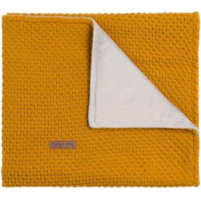 Couverture jaune Flavour (100 x 135 cm)  par Baby's Only