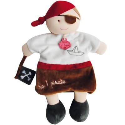 Marionnette à main conte pirate Doudou et Compagnie