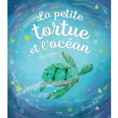 Livre La petite tortue et l'océan, Becky Davies et Jennie Poh
