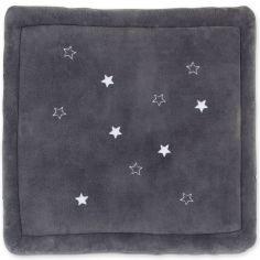 Tapis de parc softy Bmini gris grizou (100 x 100 cm)