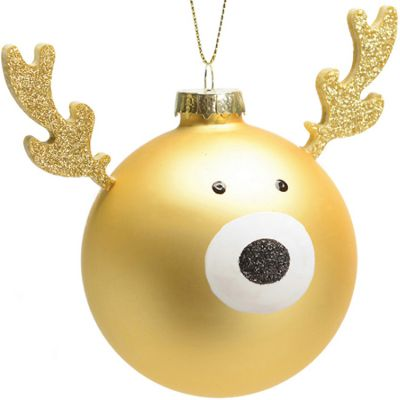 Boule Mon 1er Noël cerf  par Amadeus Les Petits