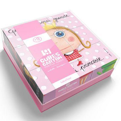 Puzzle cubes enfant fille (9 pièces)  Isabelle Kessedjian