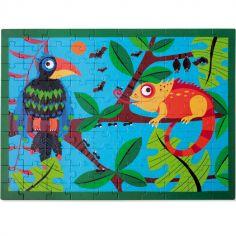 Puzzle Toucan dans la jungle (100 pièces)