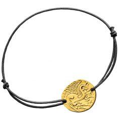 Bracelet le cheval Gaulois (or jaune 750°)