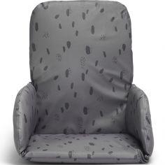 Coussin chaise haute Spot storm grey gris