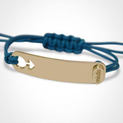 Bracelet I am Garçon (or jaune 750°)  par Mikado