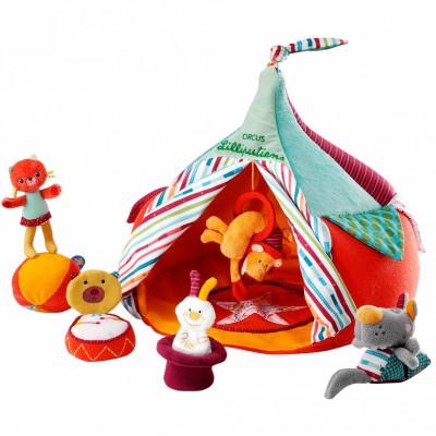 Le Cirque et ses acrobates  par Lilliputiens