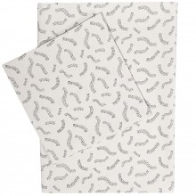 Drap de berceau et taie Confetti (75 x 100 cm)  par Trixie