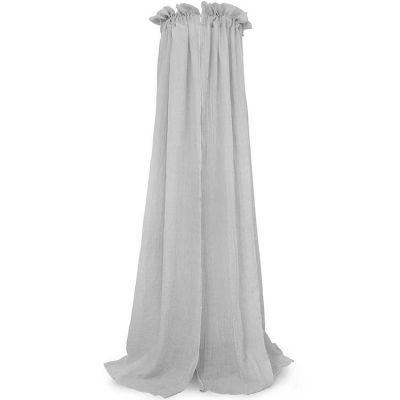 Ciel de lit gris (155 cm)  par Jollein