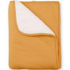 Couverture Pady chaude Cadum ocre jaune (75 x 100 cm)