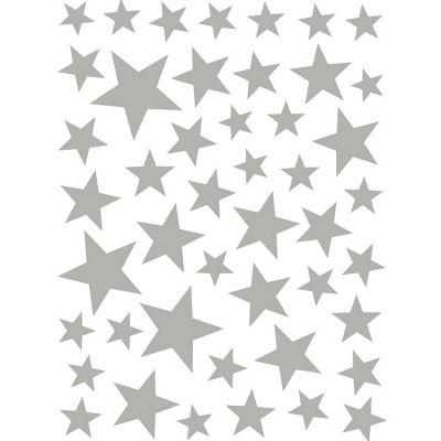 Stickers Etoiles argentées Art for Kids