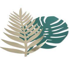 Lot de 6 feuilles tropicales Tropi Chic