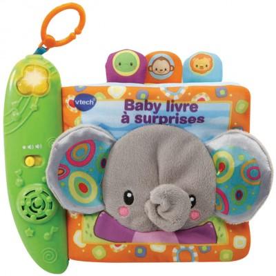 Livre bébé musical Baby livre à surprises VTech