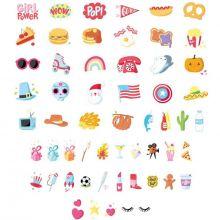 Assortiment de motifs pour lightbox American Dreams  par A Little Lovely Company