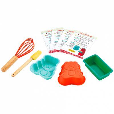 Kit d'ustensiles de cuisine Les cakes du Grizzly Maison Petit Jour