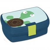 Boîte à goûter Tortue Wildlife bleu - Lässig