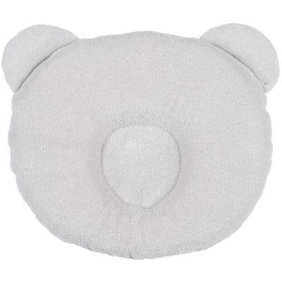 Coussin anti tête plate P'tit Panda gris  par Candide