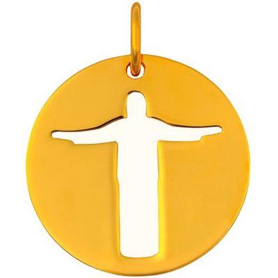 Médaille Christ de Rio (or jaune 18 carats)  par Maison La Couronne
