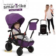 Tricycle évolutif 8 en 1 pliant smarTfold 700 violet