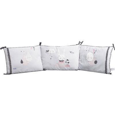 Tour de lit Miss Fleur de Lune (pour lits 60 x 120 cm et 70 x 140 cm)  par Sauthon