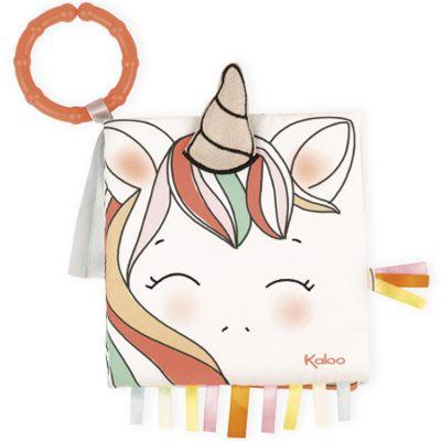 Livre bébé La licorne joyeuse  par Kaloo