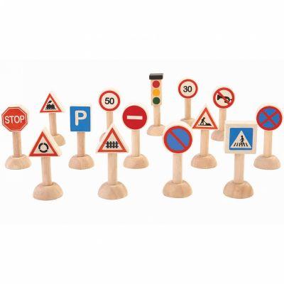 Panneaux de signalisation (14 pièces) Plan Toys