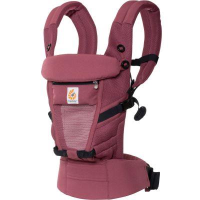 Porte bébé Adapt Cool Air Mesh bordeaux Ergobaby