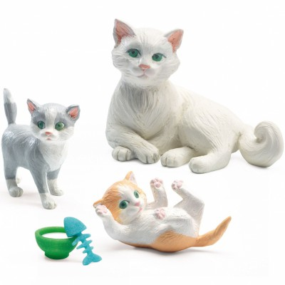 Figurines Les chats  par Djeco