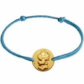 Bracelet cordon enfant Rêveur (or jaune 375°) - La Fée Galipette