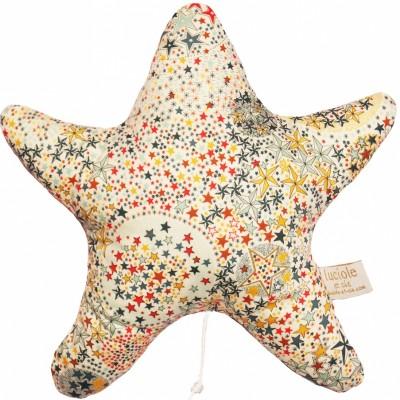 Etoile musicale Liberty étoiles (25 x 25 cm) Luciole et Cie