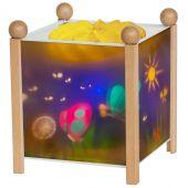 Lanterne magique ''Papillons'' naturel - Trousselier