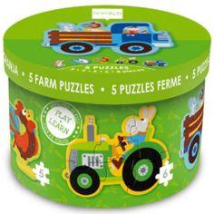 Lot de puzzles Mon premier puzzle Ferme (26 pièces)