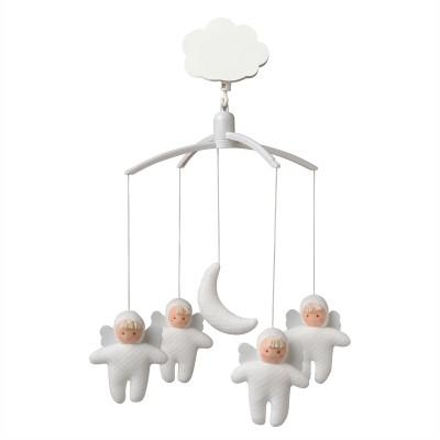 Mobile musical anges et lune  par Trousselier