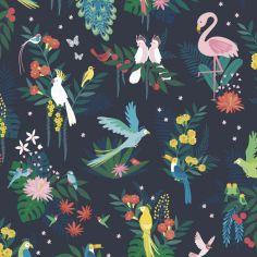 Papier peint intissé Défilé d'oiseaux (10 m)